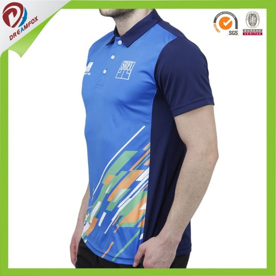 OEM Dry Fit Breathable Custom Sublimation Cheap New Design Cricket Jersey pictures & photos