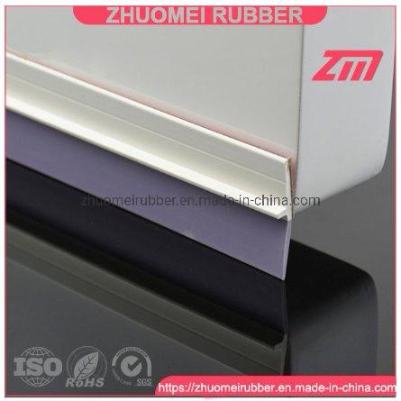 China White PVC Rubber Under Door Draft Stopper - China Door Draft