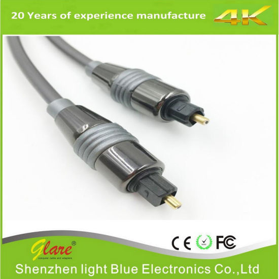 Low Price Toslink Cable Support OEM pictures & photos
