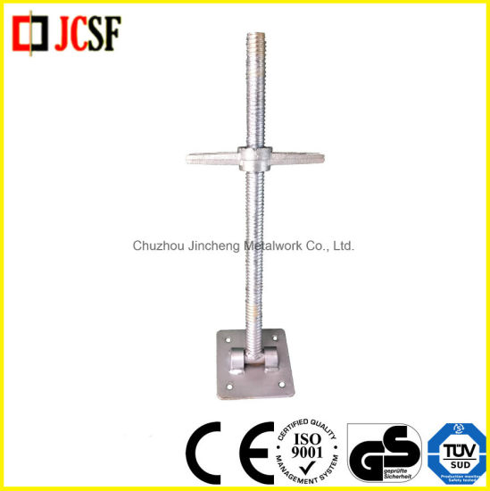 Scaffolding Screw Jack for Construction (U-head Screw Jack, Base Jack, Swivel Screw Jack) pictures & photos