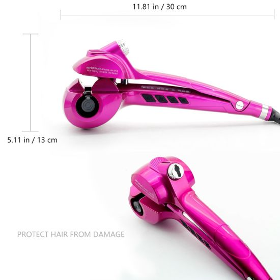 2017 New Electric Steam Mini Hair Curler pictures & photos