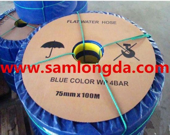 Korea Tech PVC Layflat Water Discharge Pump Hoses pictures & photos