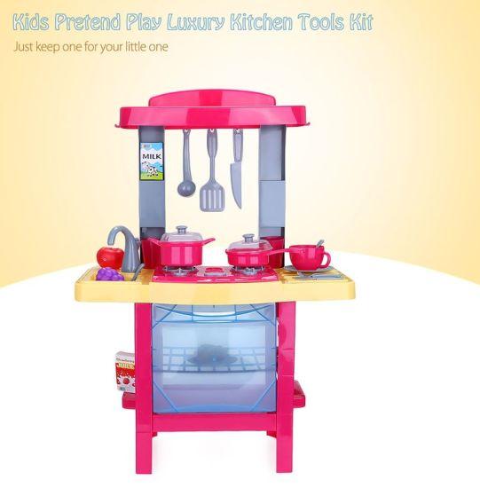 41241bb027f4 China 14358001-34PCS Baby Kids Luxury Simulation Kitchen Tools Box ...