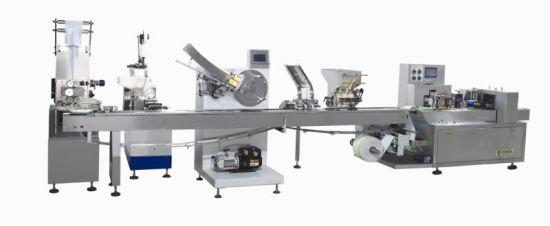 High Speed Auto Non Woven Wet Pipes Sealing Packing Produce Line Machine