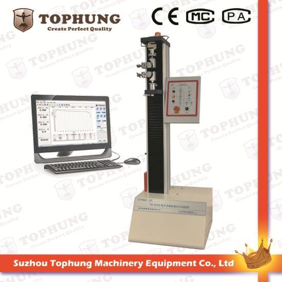 Single Column Bedding Down Non-Metal Material Servo Testing Machine
