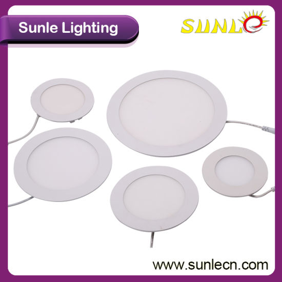 Sunle PF95% Driver IP44 24W LED Panel Lamp (SL-MB024) pictures & photos