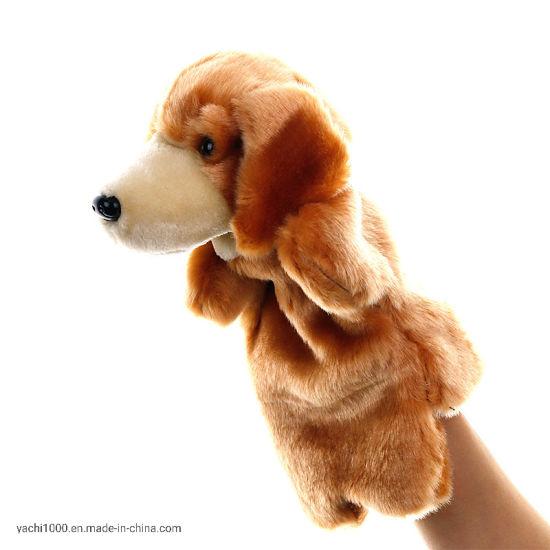 Promotion Gift Wholesale Plush Dog Toy Puppet Manufacturer