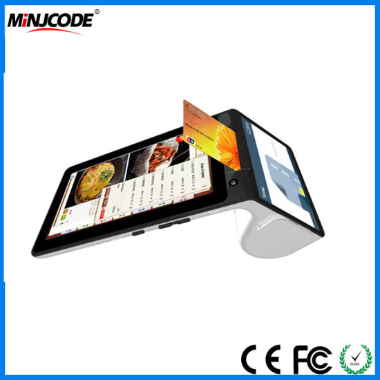 Touch Screen Portable /Tablet All-in-One Intelligent Terminal/POS Ordering  Machine