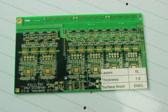 Customized PCB, 2 Layer Rigid PCB, 1.6mm Thickness Fr4 PCB Prototype