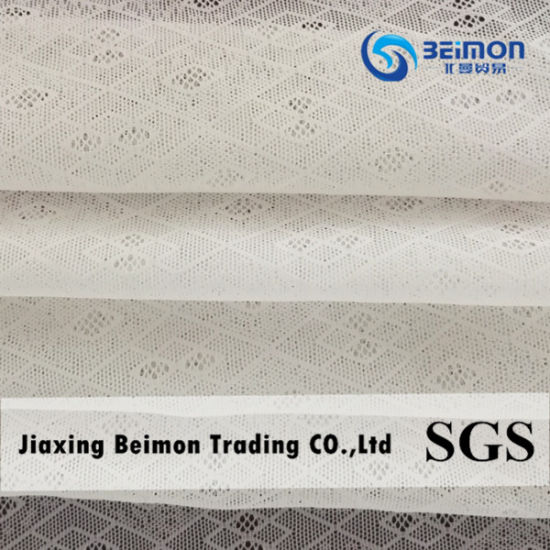 Good Quality Nice Design Zxp25510 Nylon Spandex Jacquard Mesh Fabric