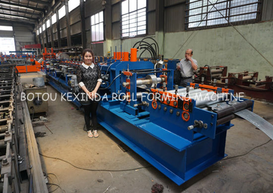 C Cold Steel Purlin Forming Machinery pictures & photos