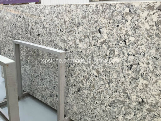 Artificial Quartz Slab for Kitchen Countertop pictures & photos