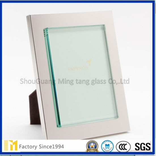 China 21 Years Factory Wholesale Washed or Polished Picture Frame Glass with SGS Inspection