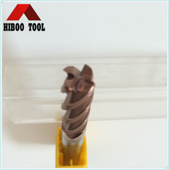 HRC55 Tisin Coating Toridal Carbide Cutter for Steel pictures & photos