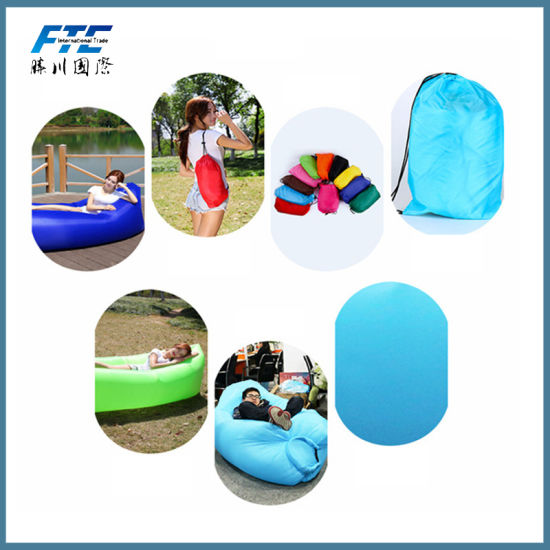 Inflatable Sleeping Bag with Pocket pictures & photos