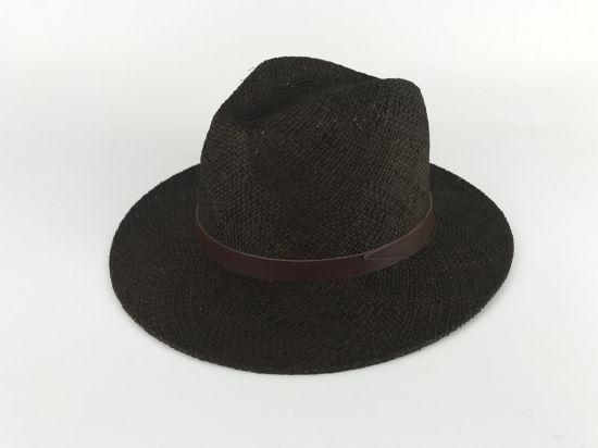 3276b7c916b China High Quality Bao Straw Leather Band Safari Hat - China Straw ...