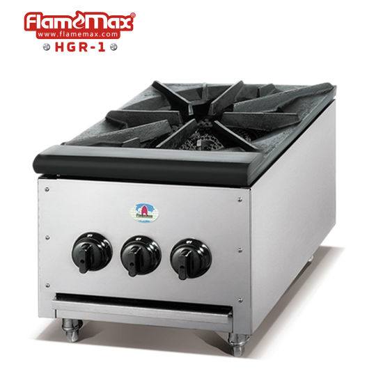 Stainless Steel Haevy Duty Gas Stove Made in China (HGR-1)