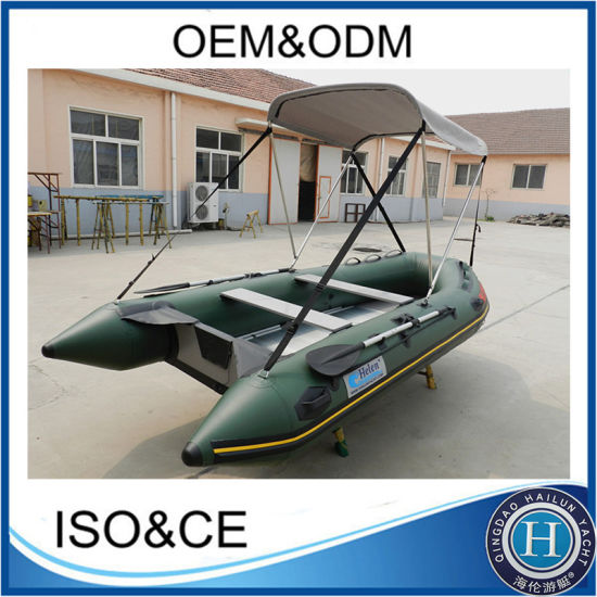 Inflatable Rowing Boat, Rescue Boat, PVC Pontoon Boat