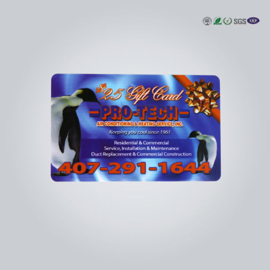 Cheap Price Blank Clear Transparent Business Cards