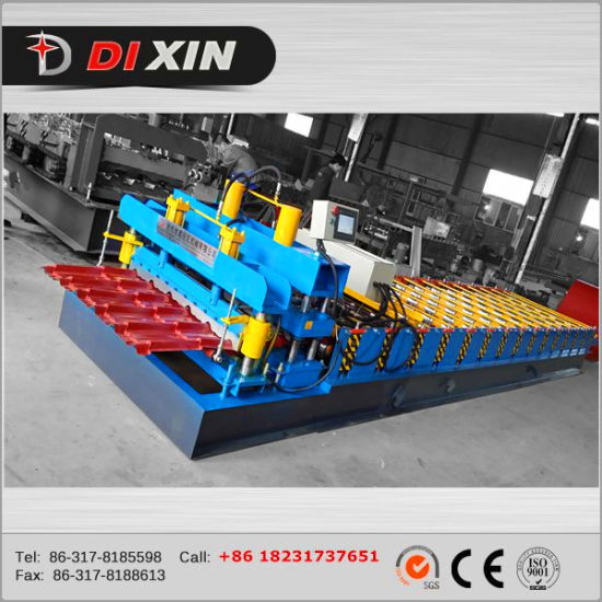 Dx Cheap Price Roof Tile Rolling Machine pictures & photos