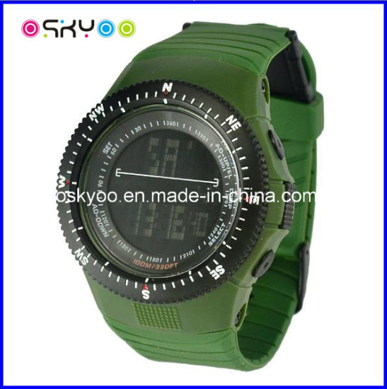 Fashion 3ATM Waterproof Men′s Sports Watch pictures & photos