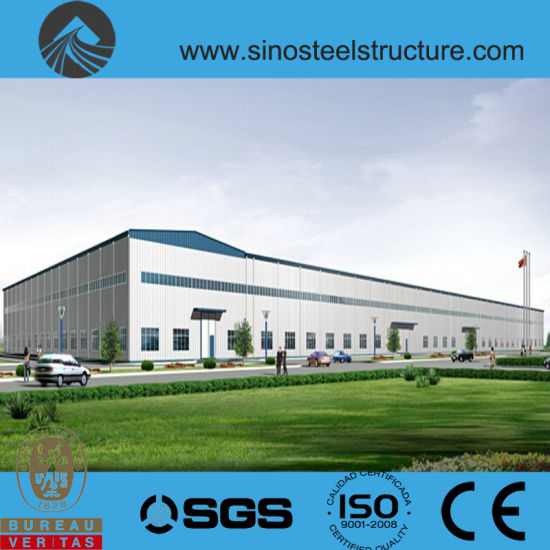 Ce BV ISO Certificated Steel Construction Factory Plant (TRD-043)