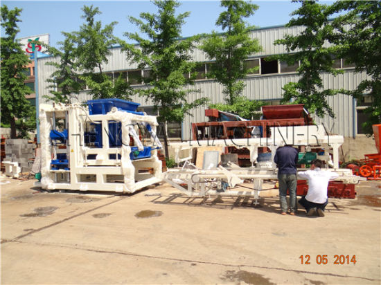 Qt10-15 Automatic Concrete Block Making Machine pictures & photos