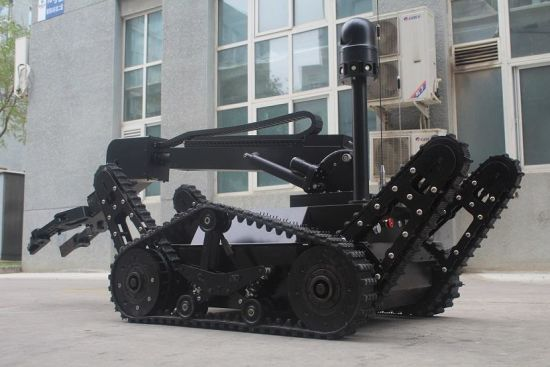 6 Dof Could Achieve Any Angle of Rotation, Can Snatch 30kg Weight Eod Disposal Robot pictures & photos