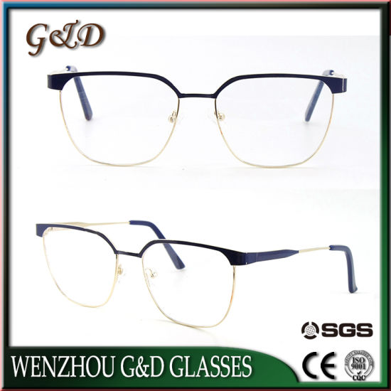 Fresh New Fashion Models Spectacle Wholesale Metal Eyewear pictures & photos