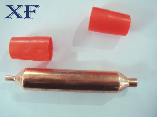 Refrigeration Parts Copper Filter Drier with Colourful Caps pictures & photos