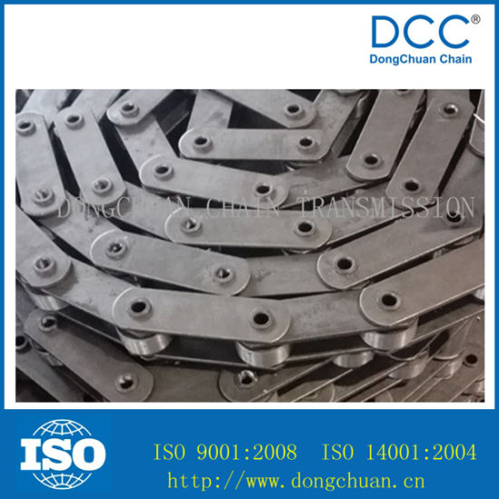 Carbon Steel Hollow Pin Roller Conveyor Chain pictures & photos