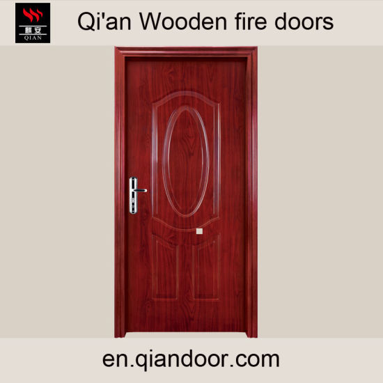 Villa Room Wooden Fire Door pictures & photos