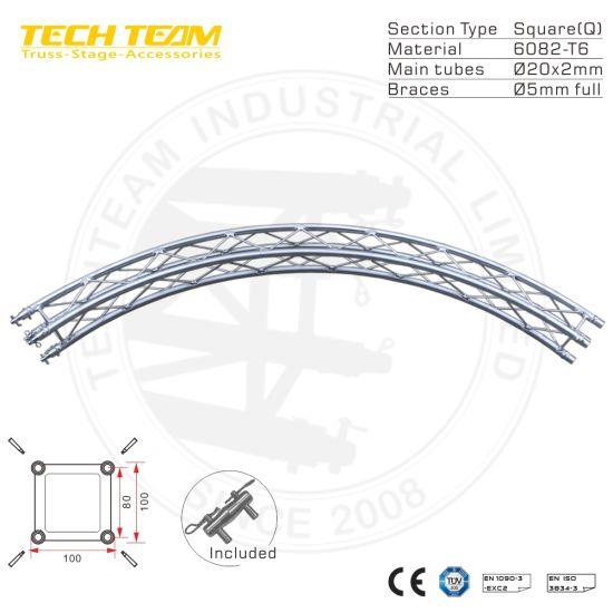 Spigot Small Lighting Truss 100*100mm Aluminum Truss