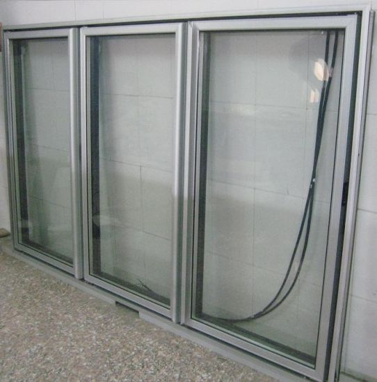 Wine Cooler Glass Door with Electric Heater pictures & photos