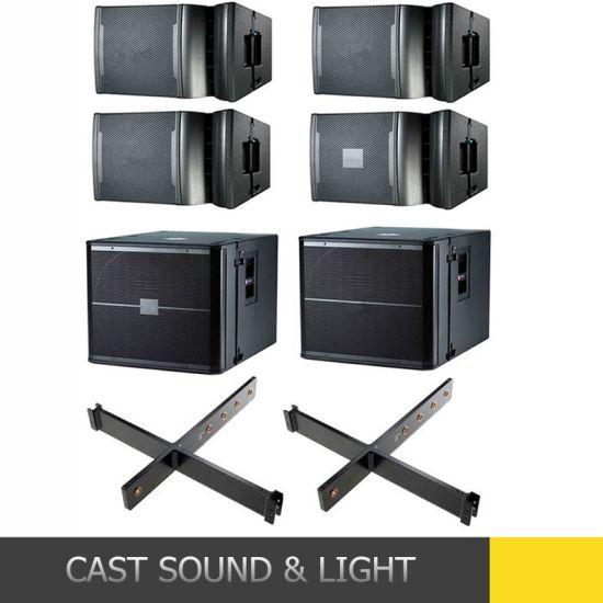 Neodymium Active Line Array Powered Loud Speaker