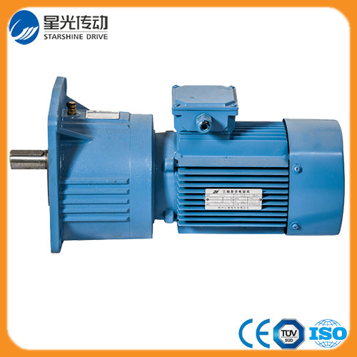 Ncj Series Helical Gear Reducer with Electric Motor