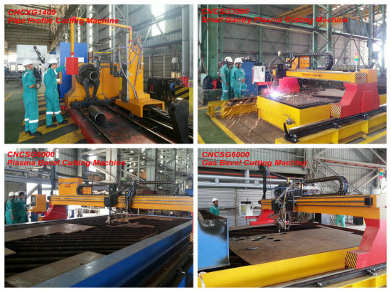 Gantry Type Multiple CNC Plasma & Flame Strip Slitting Machine pictures & photos