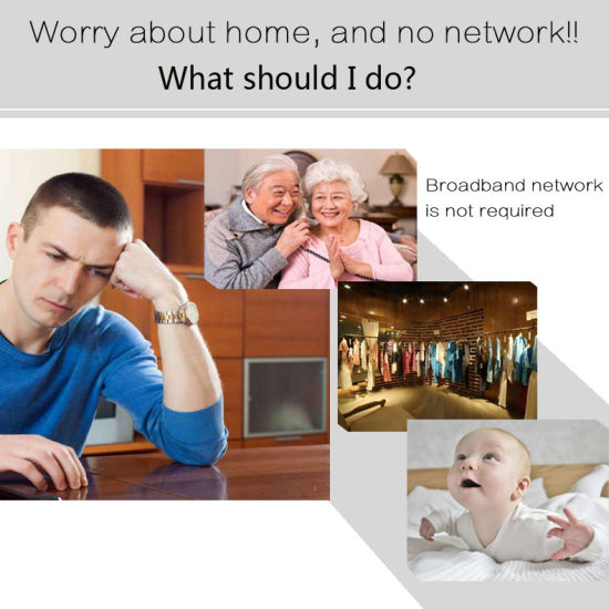 1080P HD Wireless 3G 4G SIM Card Camera 2.0MP IP WiFi Camera with Bulit in Battery P2p Network Video Home Security pictures & photos