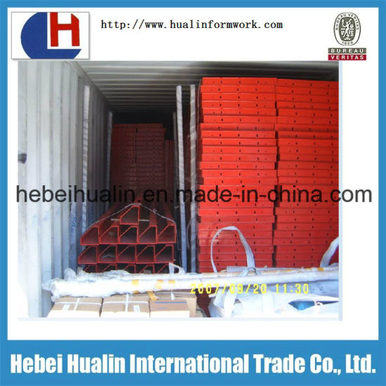 Hebei Hualin Supply Panel Formwork with Plywood Used in Concrete Pour pictures & photos