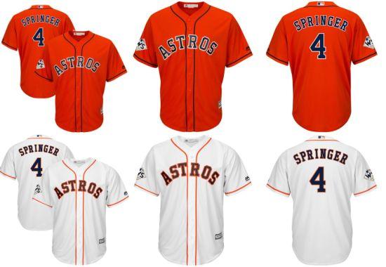 cheap for discount 2e688 e2e75 China American League Houston Astros George Springer ...