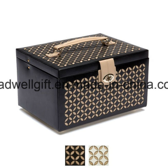 Medium Leather Jewelry Box pictures & photos