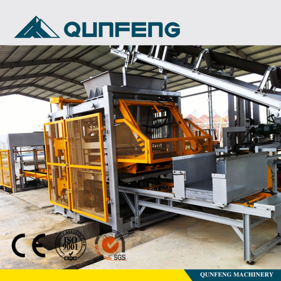 Automatic/ Hydraulic/ High Capacity/ Hollow Block Machine/Block Making Machine (QT10-15)