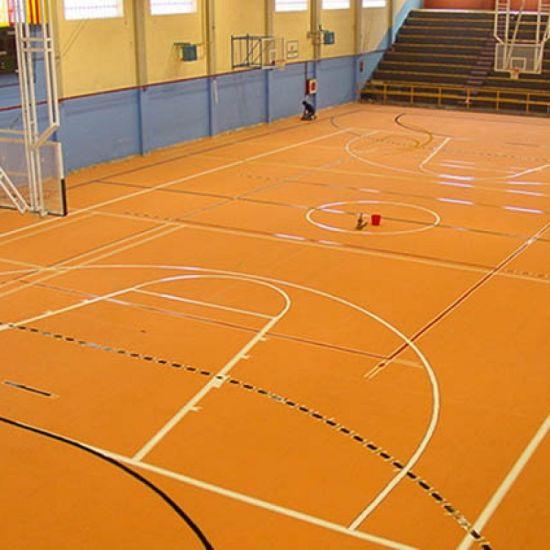 China Synthetic Vinyl Sport Flooring For Basketball Court China - Skate court flooring