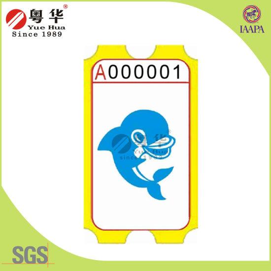 Yuehua Good Quality Game Amusement Ticket for Vending Machine