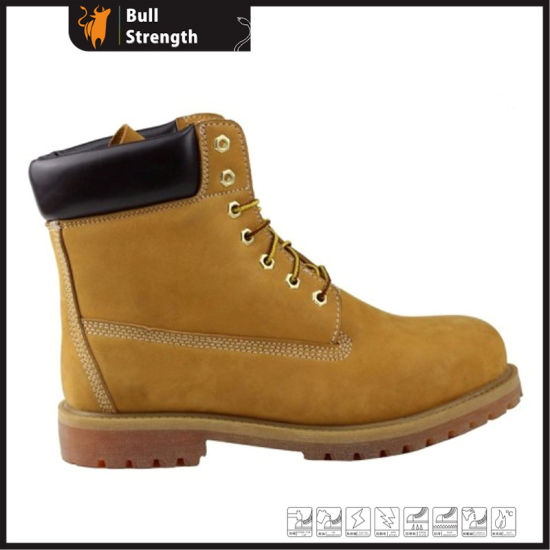 China Structure Industrial Ankle Goodyear Welted Safety Boot Sn1644