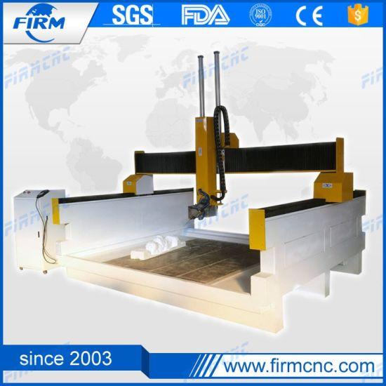 Jinan Foam Engraving Cutting Machine Gantry 4 Axis CNC Router