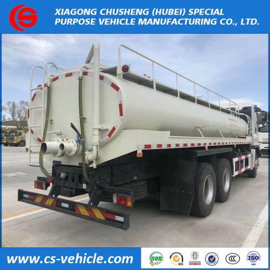 Isuzu 6X4 20m3 Water Tank Truck for Sale in Kenya