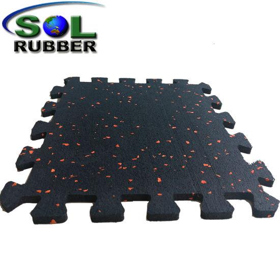 China Ce En1177 Certification Special Pattern Interlock Gym Mat ...