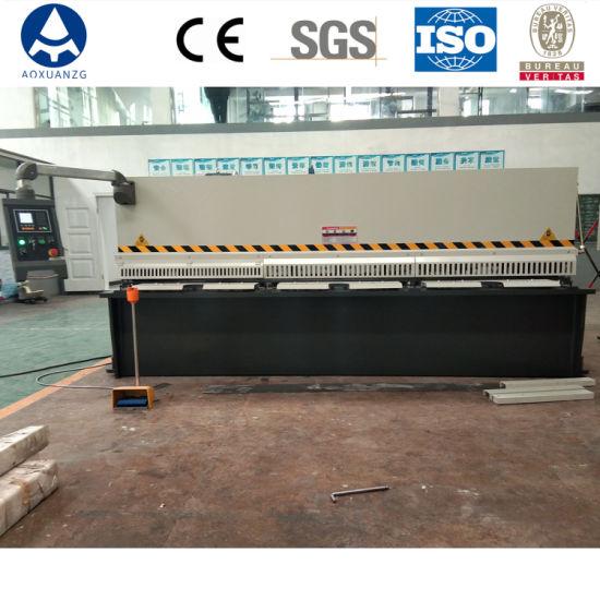 Hydraulic CNC Plate Shear, Guillotine Shearing Machine QC12y-4*2500