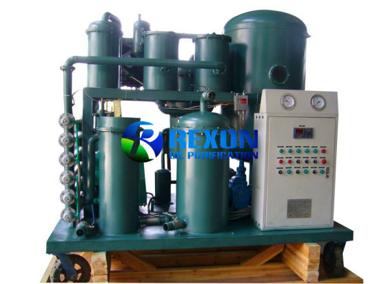 Vacuum Lube Oil Purifier for Hydraulic Oil Cleaning Treatment